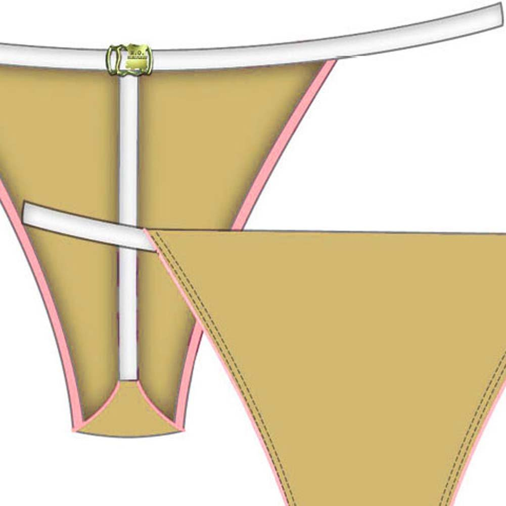 Necessary Objects Barely Nude T-Bar Panty Medium Soft Sand - View #2