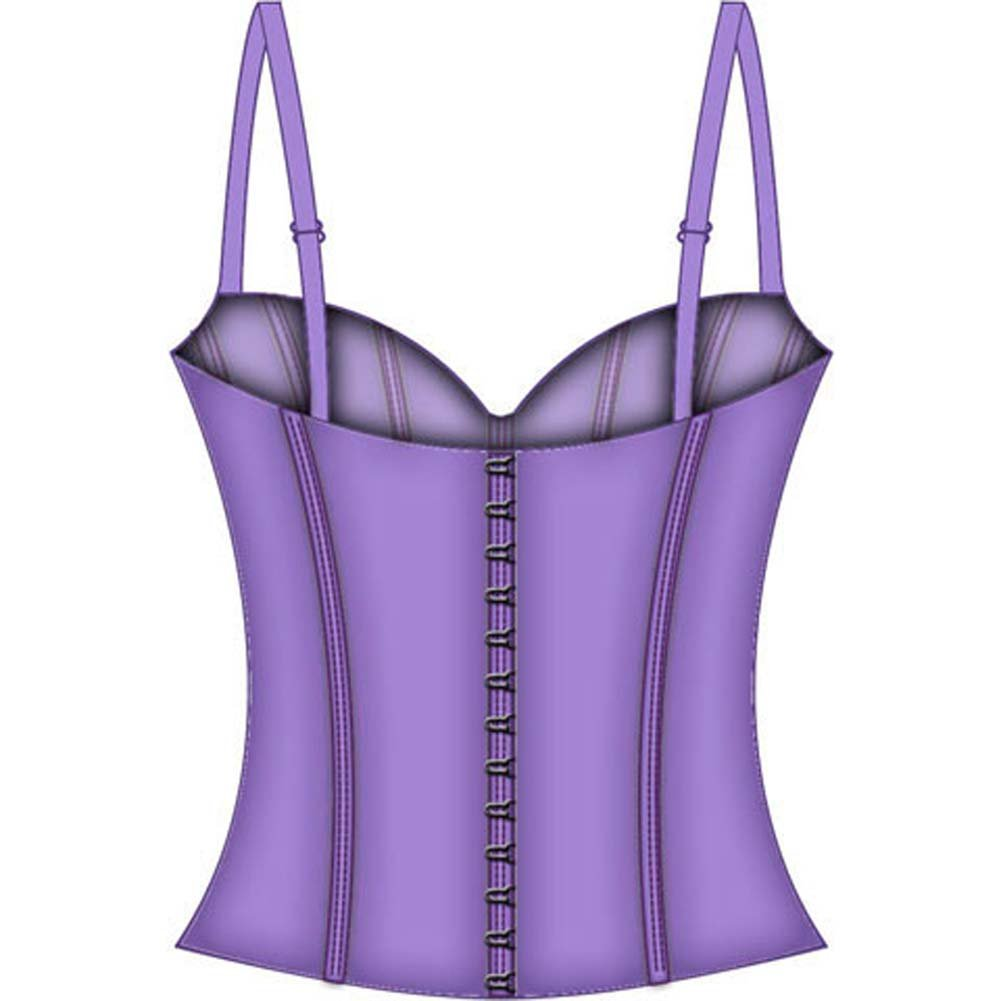 Fairy Princess Lined Boning Corset Large Lavender - View #4