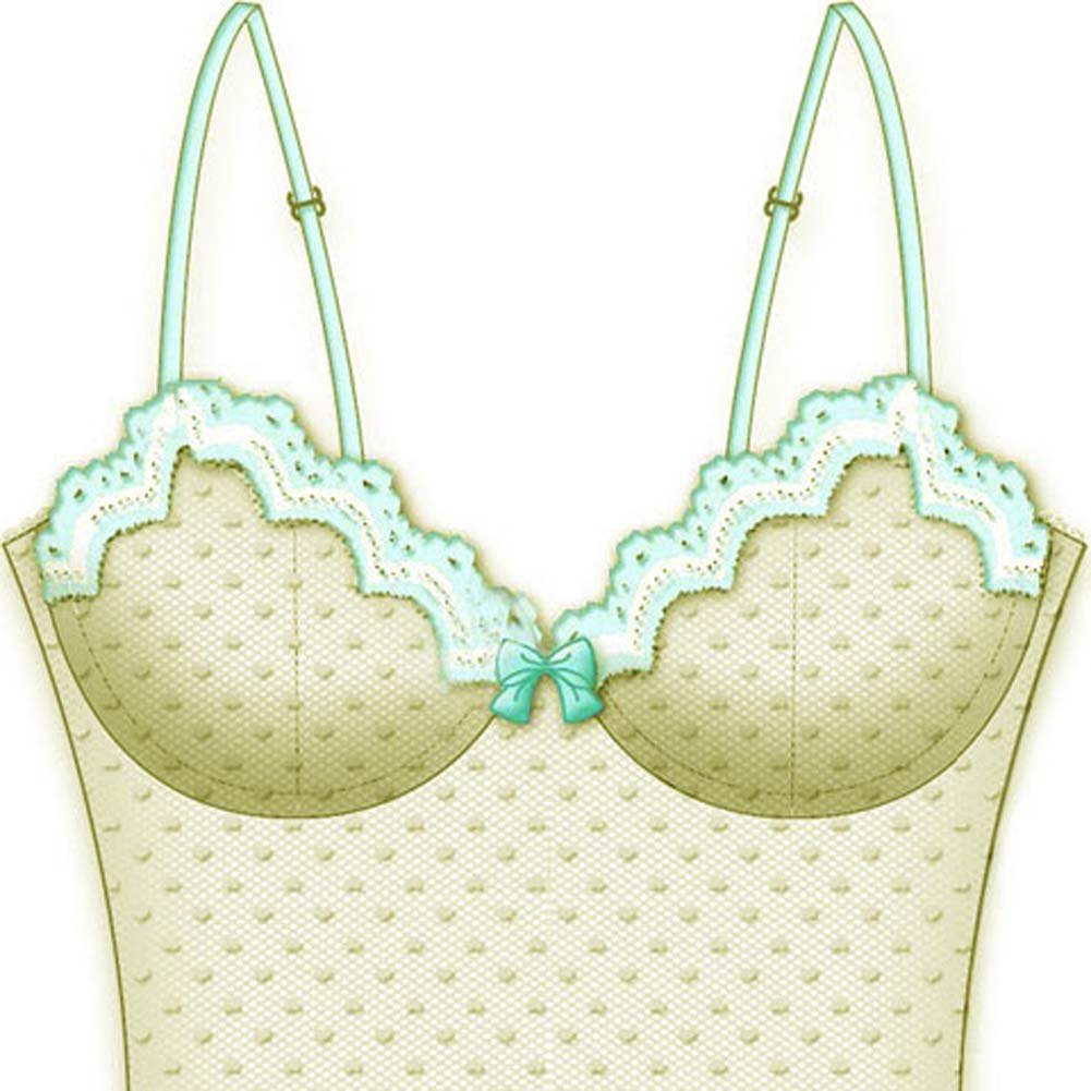 Bright Idea Shaped Cup Corset 34A White - View #2