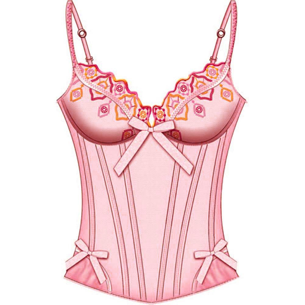 Jewel Of The Nile Molded Bone Corset 36C Pink - View #2