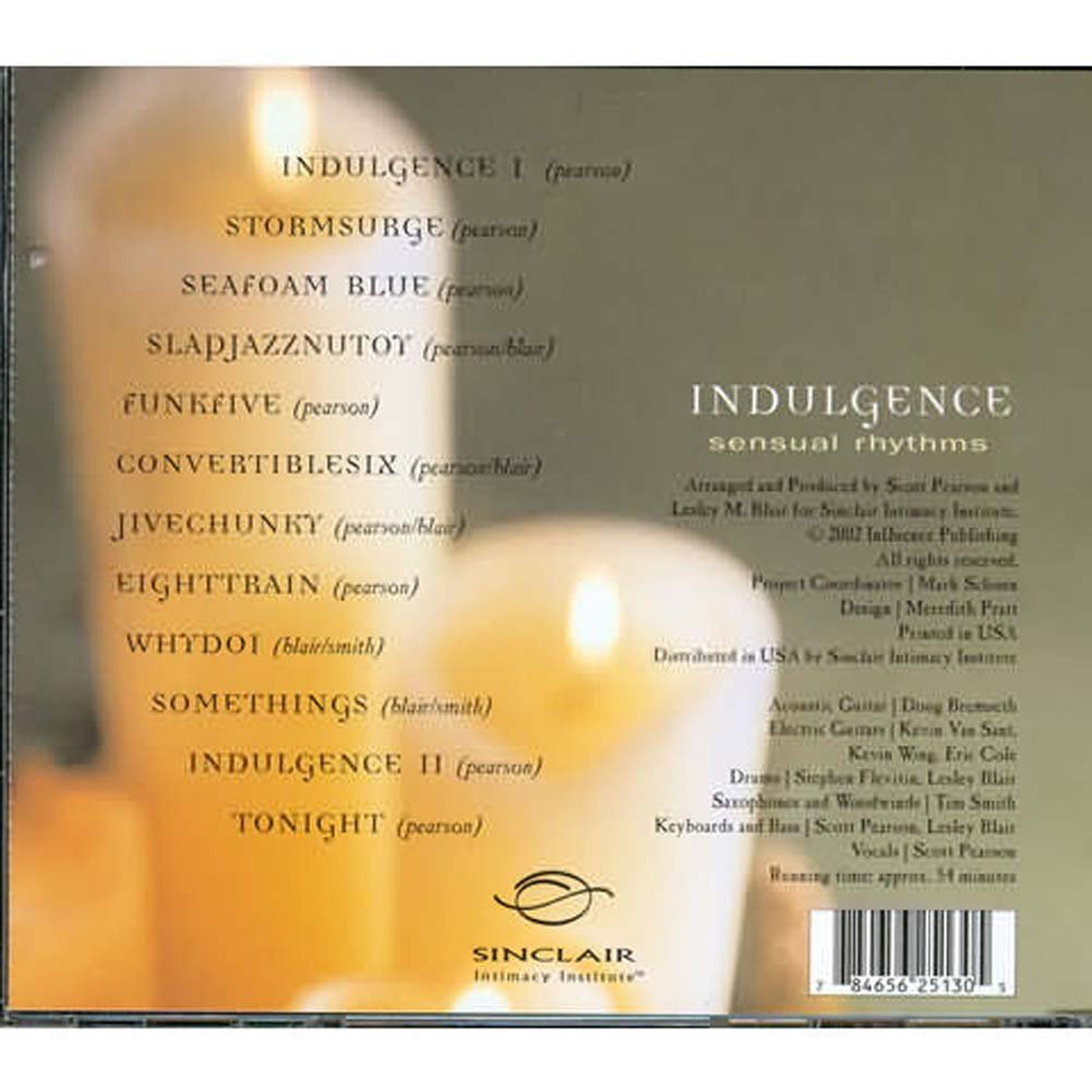 Indulgence Sensual Rhythms Music CD - View #1