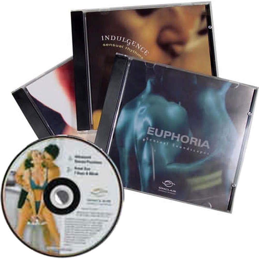 Better Sex Music Collection Set of 3 Sensual Music Audio CDs and 1 Erotic DVD - View #1
