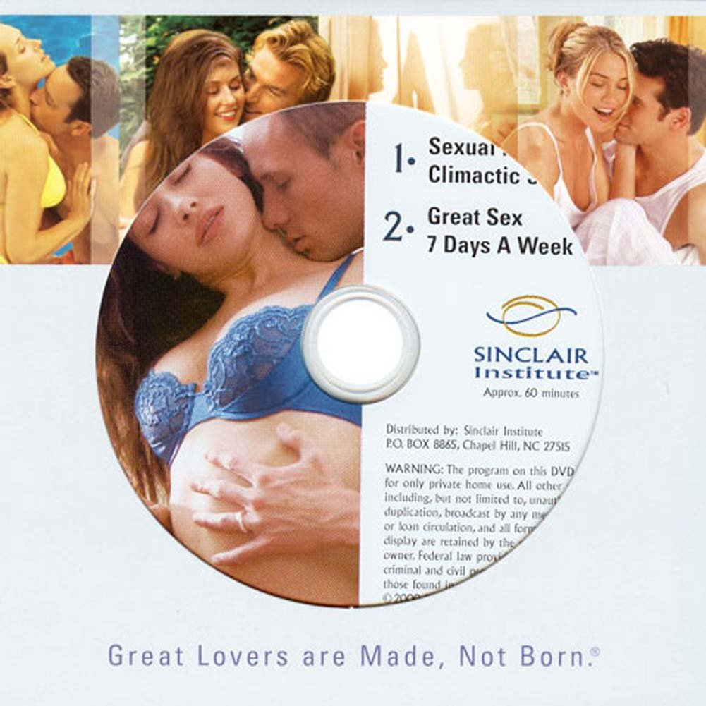 Sexual Massage and Great Sex 7 Days a Week DVD - View #1