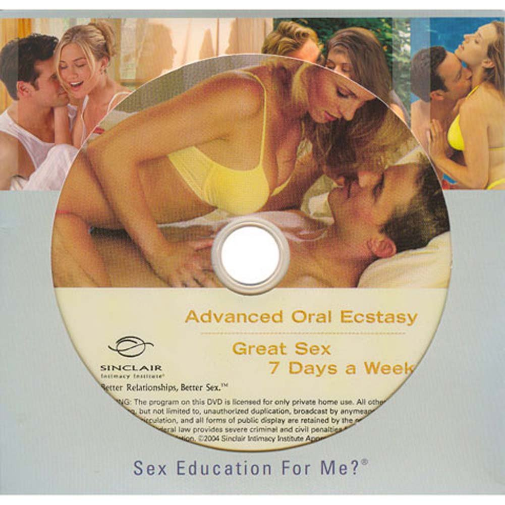 Advanced Oral Ecstasy and Great Sex 7 Days a Week DVD - View #2