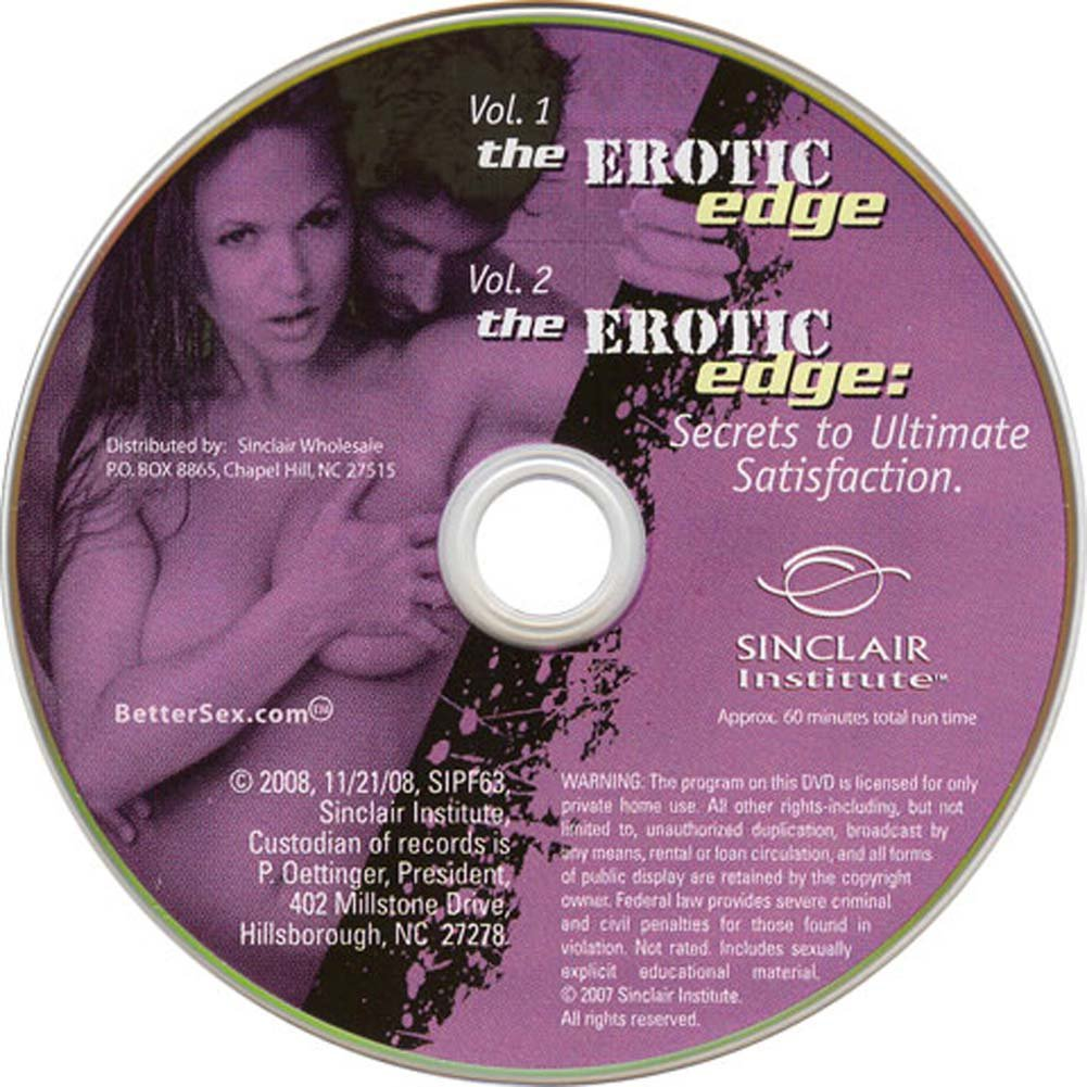Erotic Edge Secrets to Ultimate Satisfaction Vol. 1/2 DVD - View #1