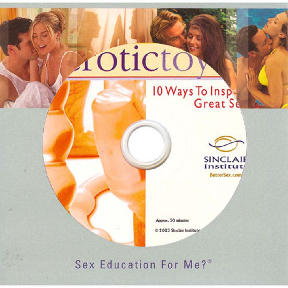 10 Ways to Inspire Great Sex by Erotic Toys DVD - View #2
