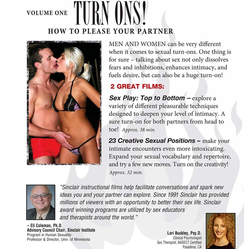 Turn Ons Vol. 1 How to Please Your Partner DVD - View #2