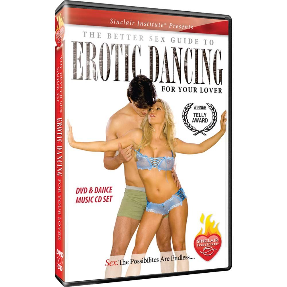 The Better Sex Guide to Erotic Dancing for Your Lover DVD - View #1