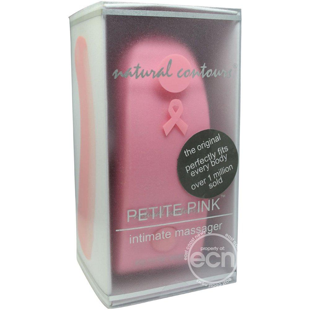 "Natural Contours Petite G-Spot Vibrator 4"" Pink - View #1"