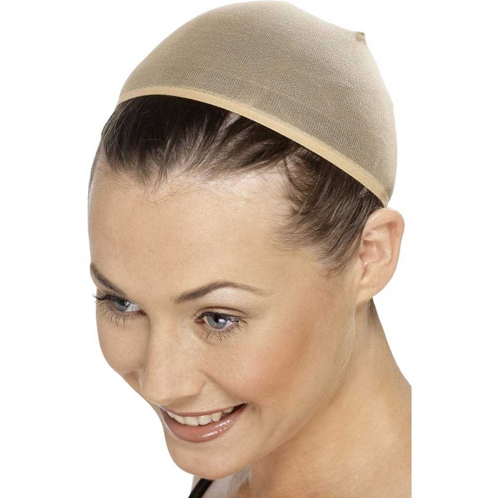 Smiffys Wig Cap Costume Accessory One Size Nude - View #1