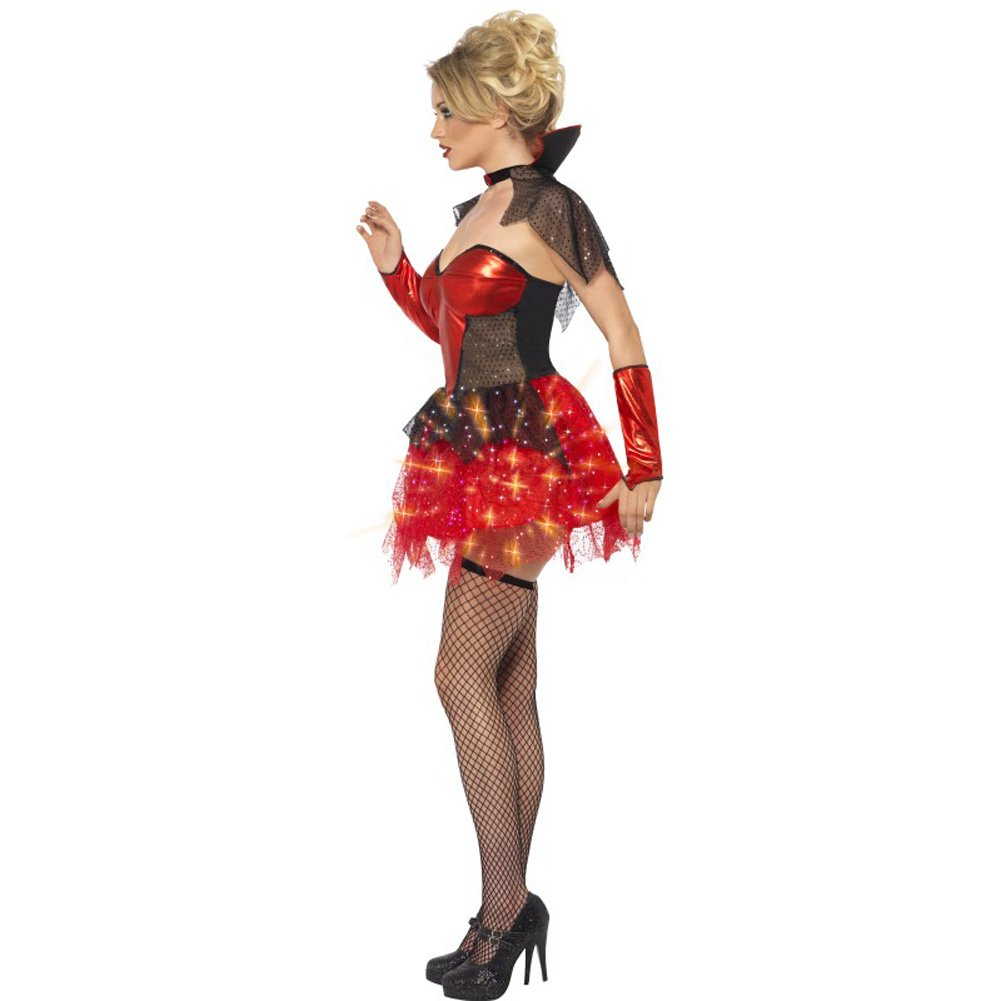 All That Glitters Vamp Gloss Costume Small - View #2