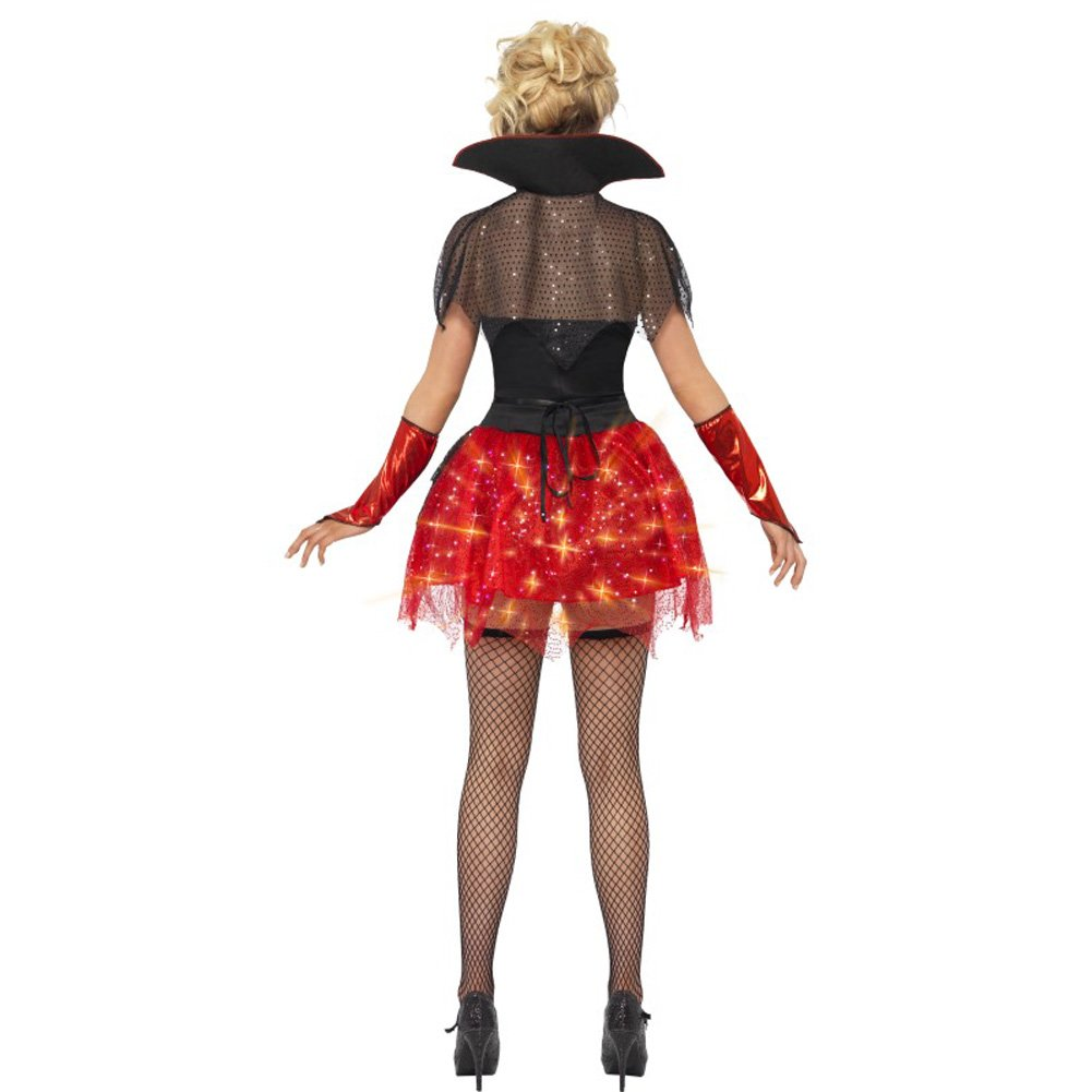 All That Glitters Vamp Gloss Costume Small - View #4