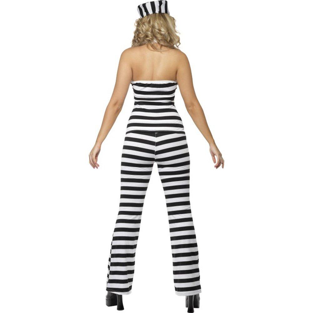 Convict Cutie Costume Medium - View #3