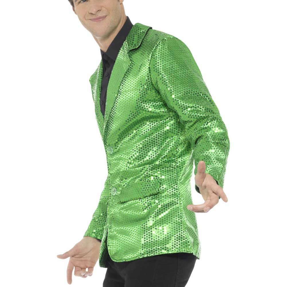 Sequin Jacket Mens Medium - View #3