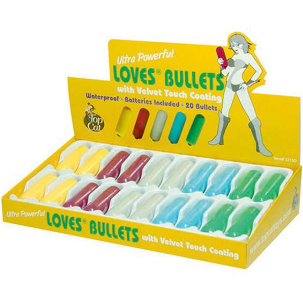 Ultra Powerful Love Bullets Assorted Pastel Colors 20 Pc Set - View #2