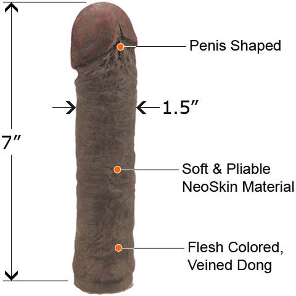 "Classic NeoSkin Dong 7"" ASSORTED COLORS - View #1"