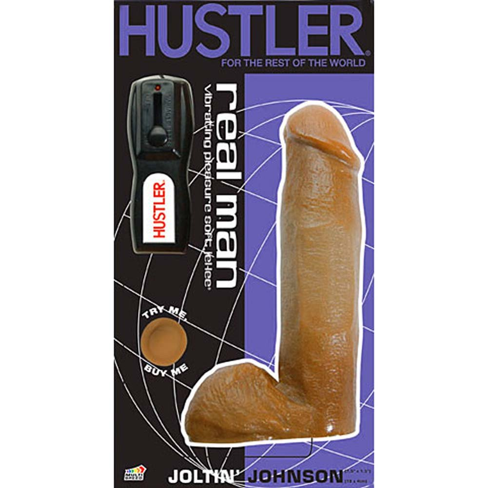 Hustler Real Man Vibrating Joltin Johnson - View #3