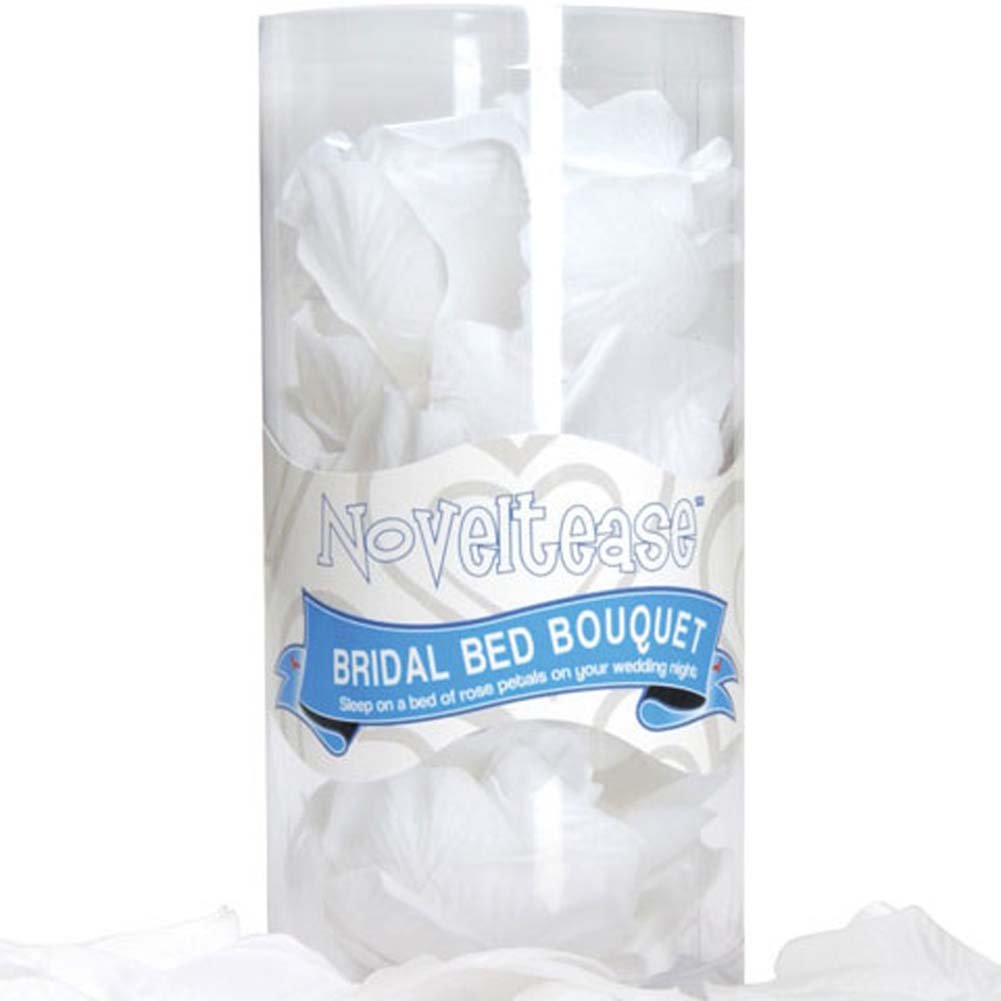 Pheromone Scented Bridal White Bed Bouquet - View #1
