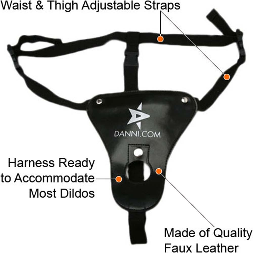 Faux Leather Universal Harness - View #2
