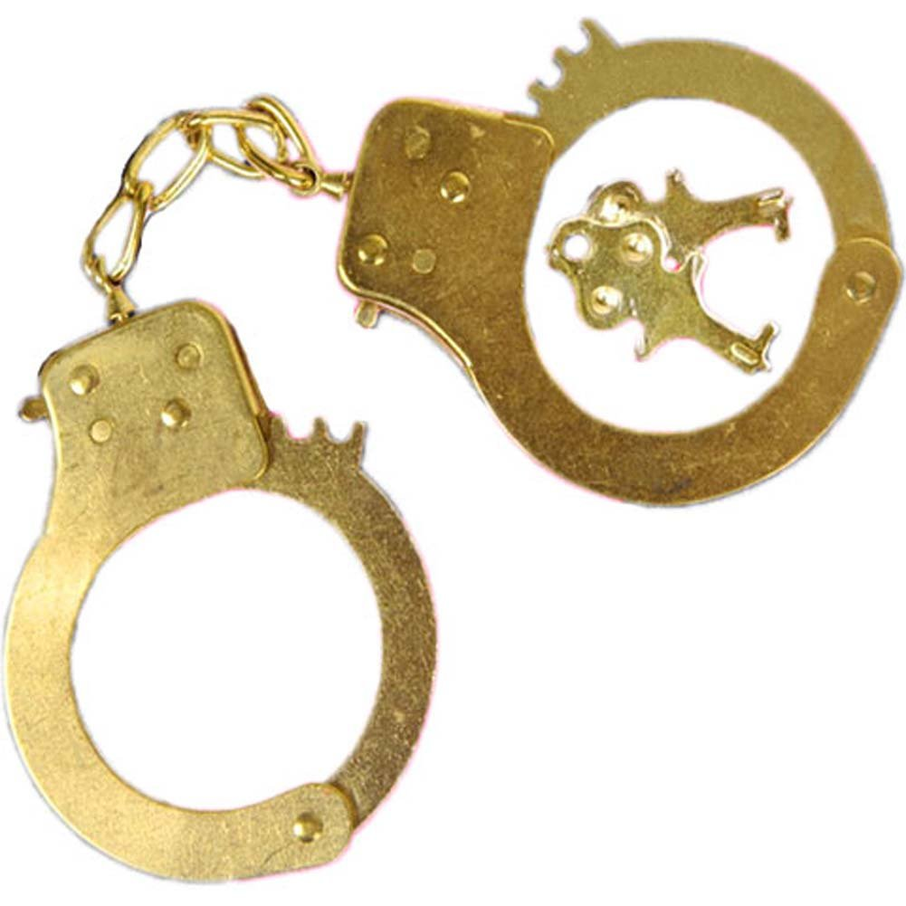 Restrained Passion Gold Cuffs by Penthouse - View #2