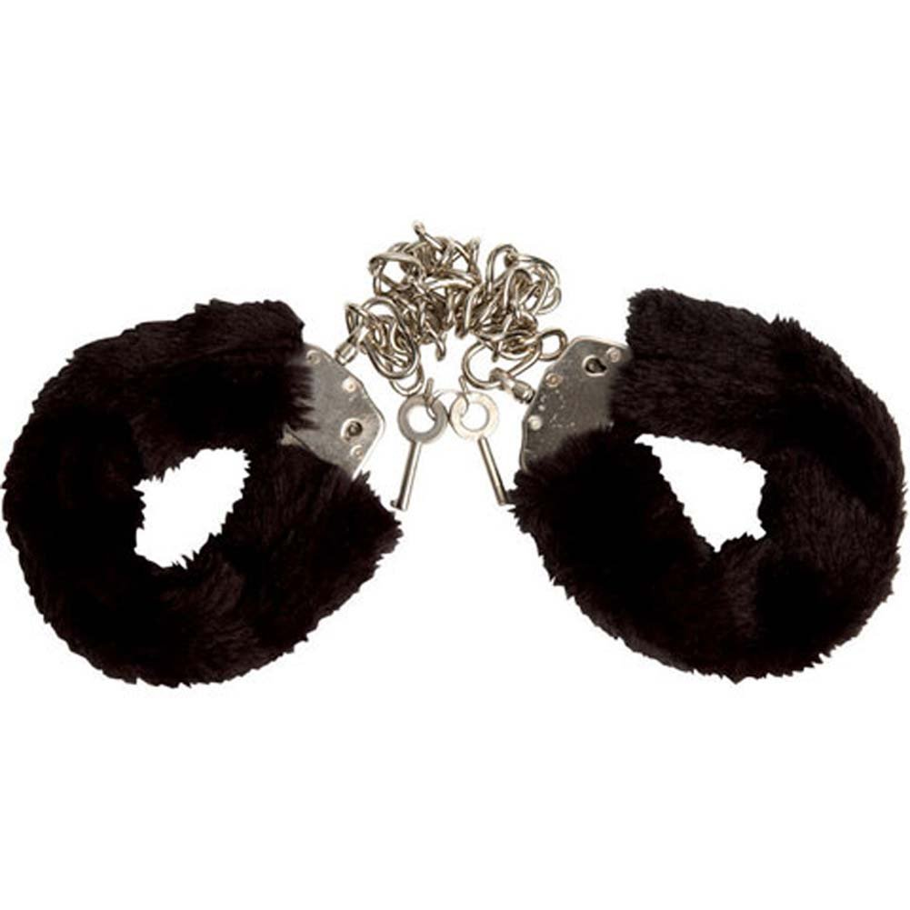 Captivity Cuffs by Penthouse Variations Bondage Black Fur - View #2