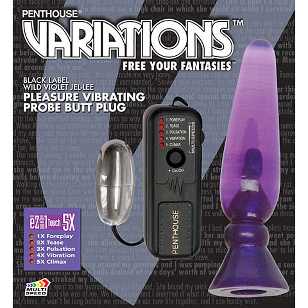 Vibrating Pleasure Probe with eZ 1 Touch 5X Wild Violet - View #4