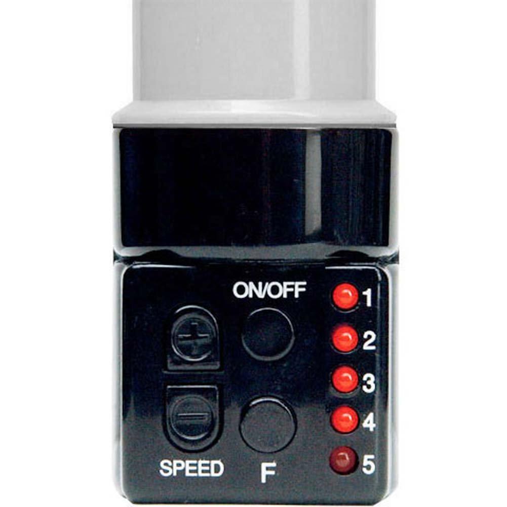 "25X Slimline G-Spot Personal Female Vibrator 8"" Pearlized White - View #2"