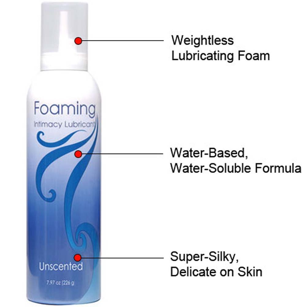Foaming Intimacy Lubricant Unscented 8 Oz. - View #1
