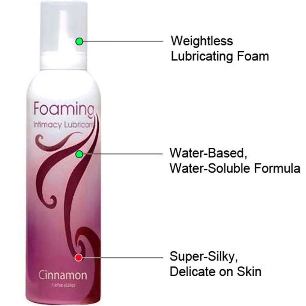 Foaming Intimacy Lubricant Cinnamon 8 Oz. - View #1