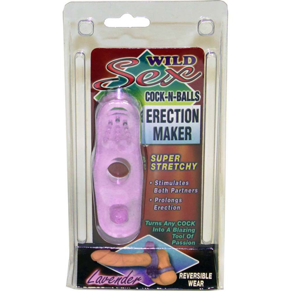 Wild Sex Cock N Balls Reversible Erection Maker Ring Bumpy - View #4