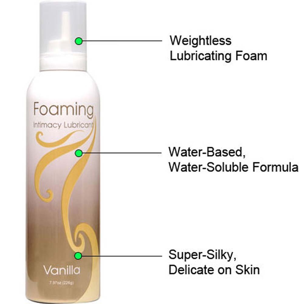 Foaming Intimacy Lubricant Vanilla 8 Oz. - View #1