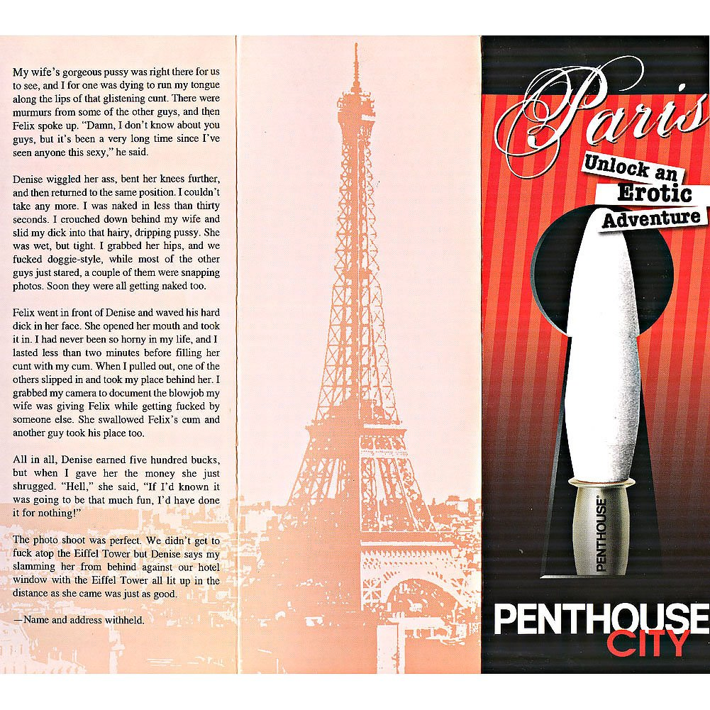 "Penthouse City Paris Personal Vibrator 6"" Hot Red - View #3"