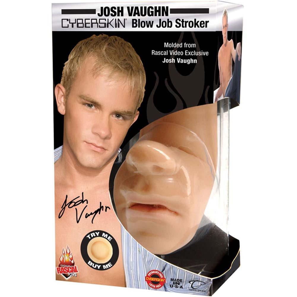 Josh Vaughn Cyberskin Blow Job Stroker Natural - View #4