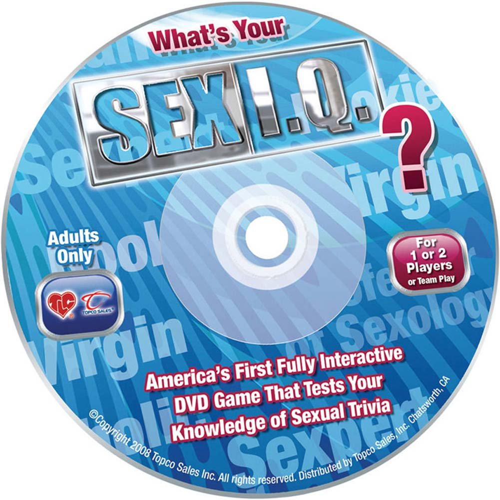 What Is Your Sex I.Q. DVD Game by TLC - View #1