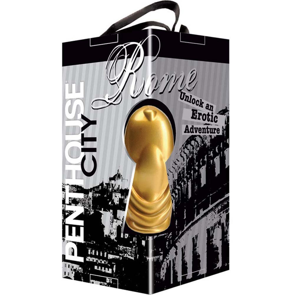 "Penthouse City Rome Finger Vibe 3"" Gold - View #4"