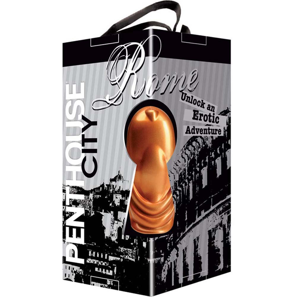 "Penthouse City Rome Finger Vibe 3"" Bronze - View #4"