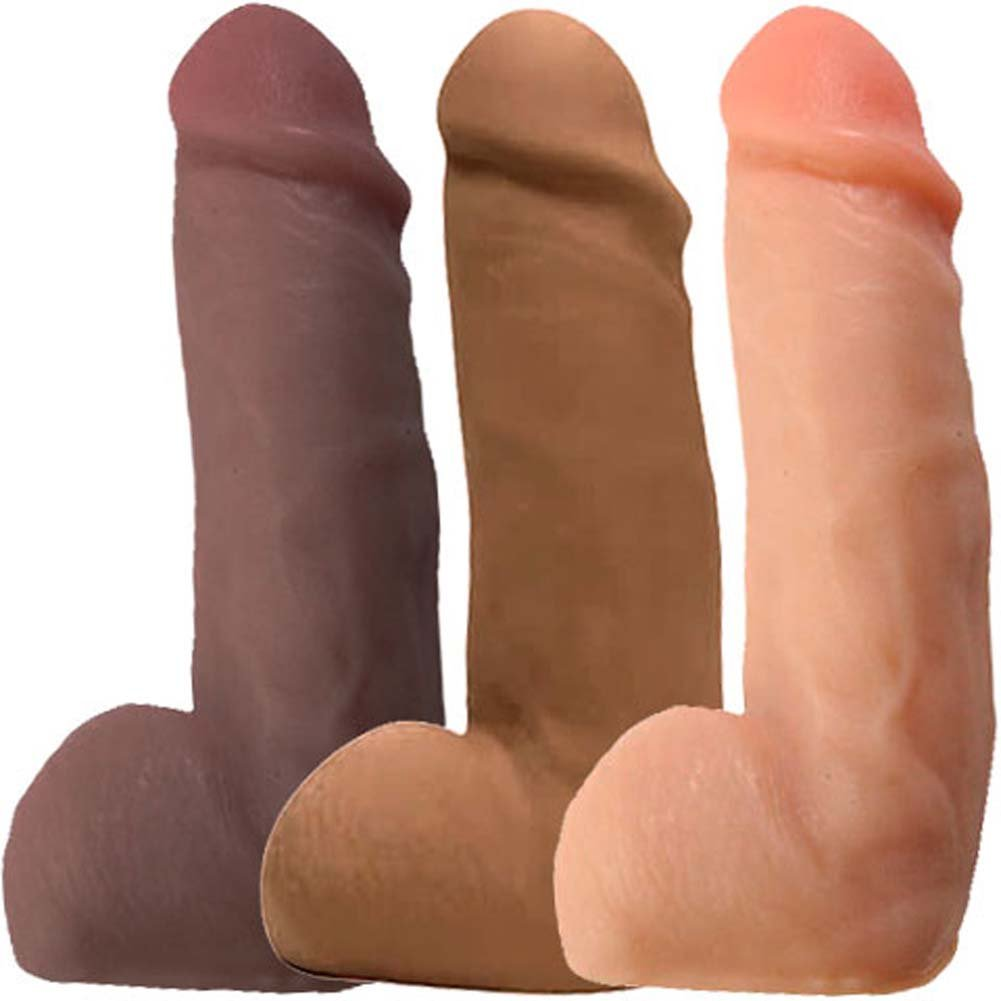 "Real Man CyberSkin Beer Can Dong 6.5"" ASSORTED COLORS - View #2"
