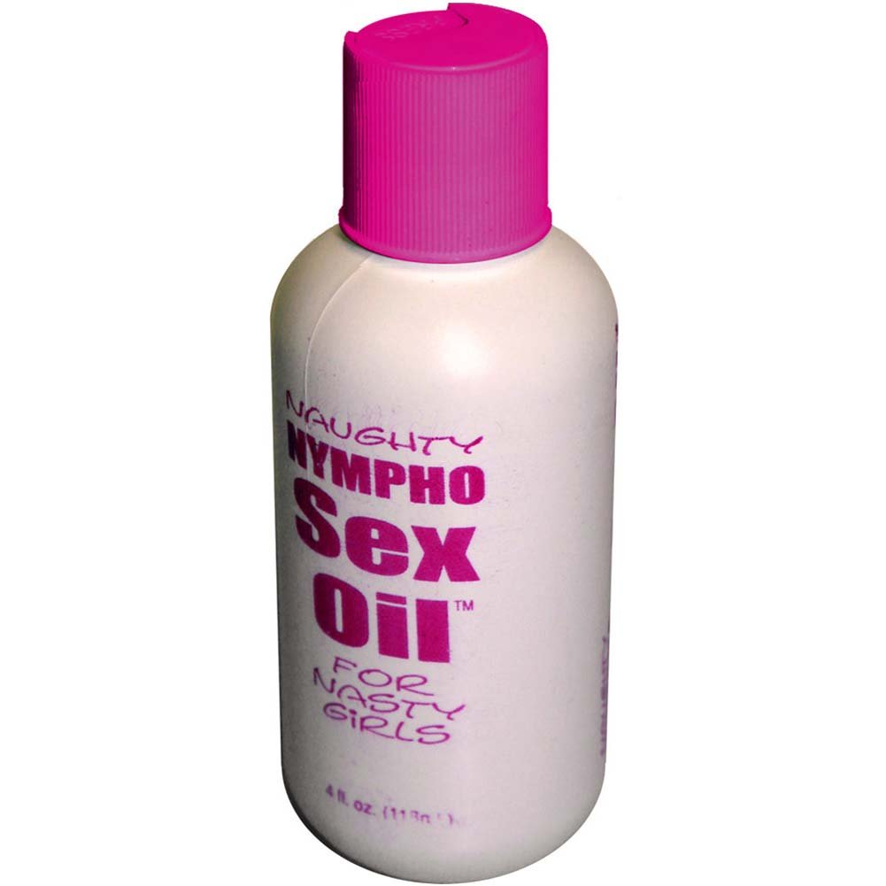Naughty Nympho Water Based Sex Oil 4 Fl. Oz. - View #1