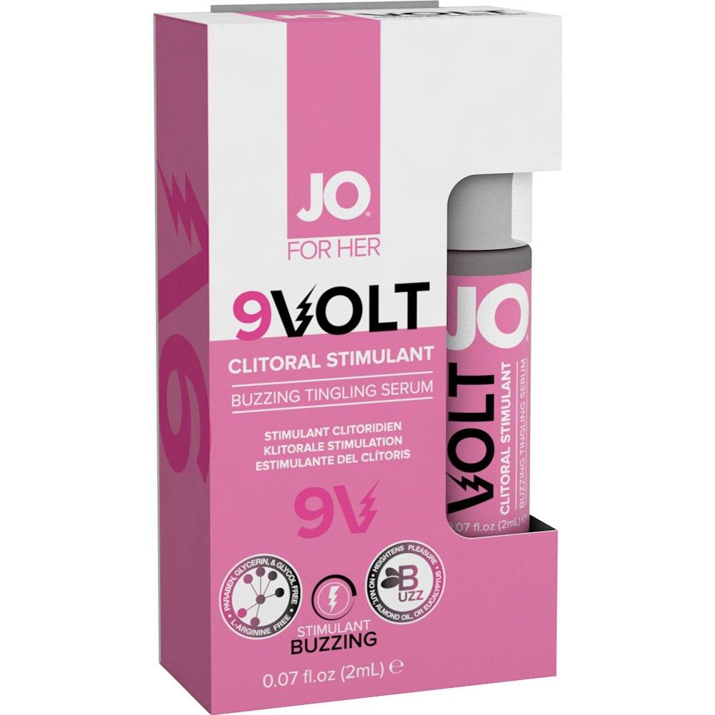 System JO 9V Volt Regular for Sensitive Women 2ml Spray - View #1