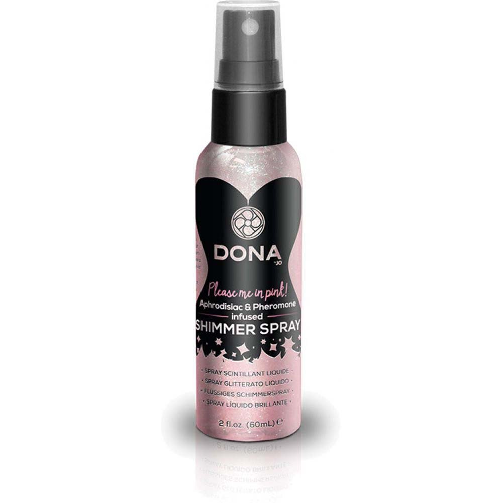 DONA Shimmer Spray 2 Fl.Oz Blushing Berry Pink - View #2