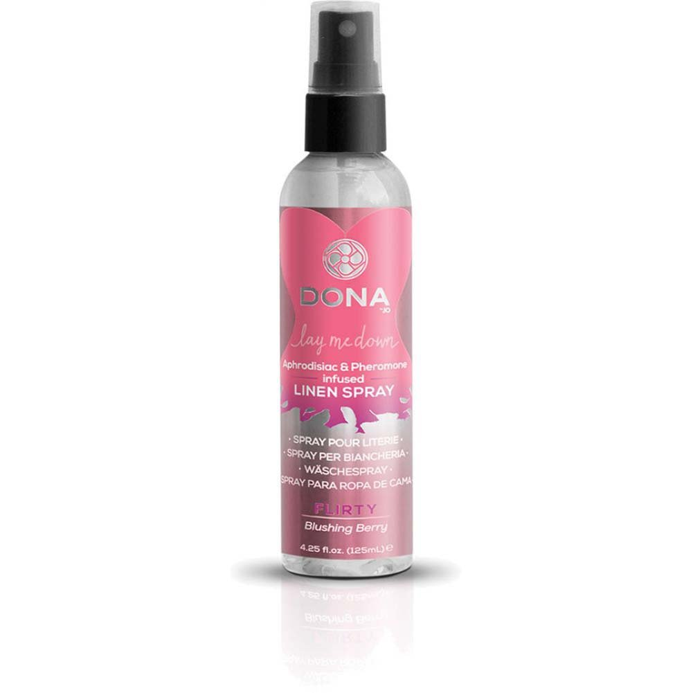 DONA Lay Me Down Linen Spray 4.25 Fl.Oz Blushing Berry - View #3