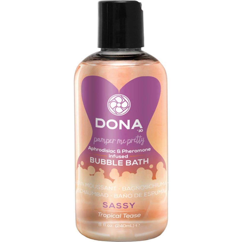 DONA Pamper Me Pretty Bubble Bath 8 Fl.Oz. Tropical Tease - View #1