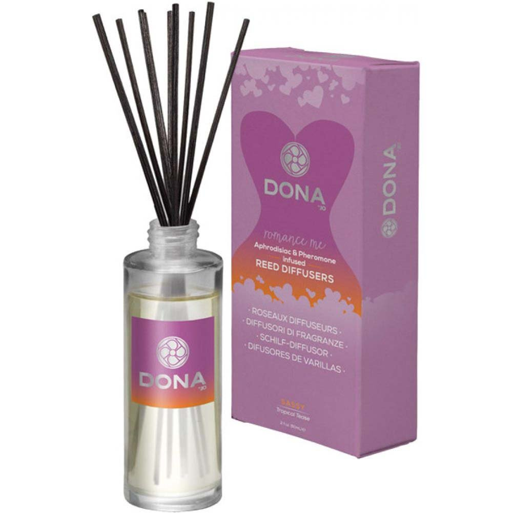 DONA Reed Diffusers Sassy Aroma - Tropical Tease - 2 Oz. - View #2