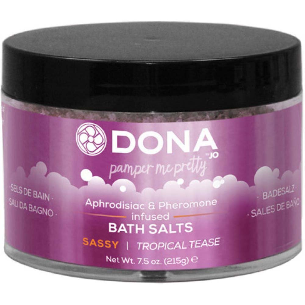 Dona Bath Salt Sassy Aroma - Tropical Tease - 7.5 Oz - View #1
