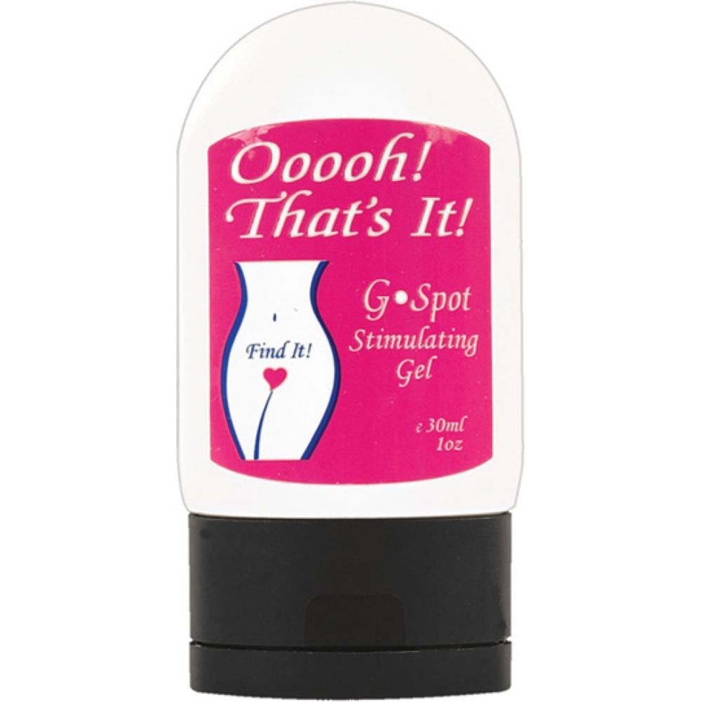 Ooooh ThatS It G-Spot Stimulating Gel 1 Fl.Oz - View #2