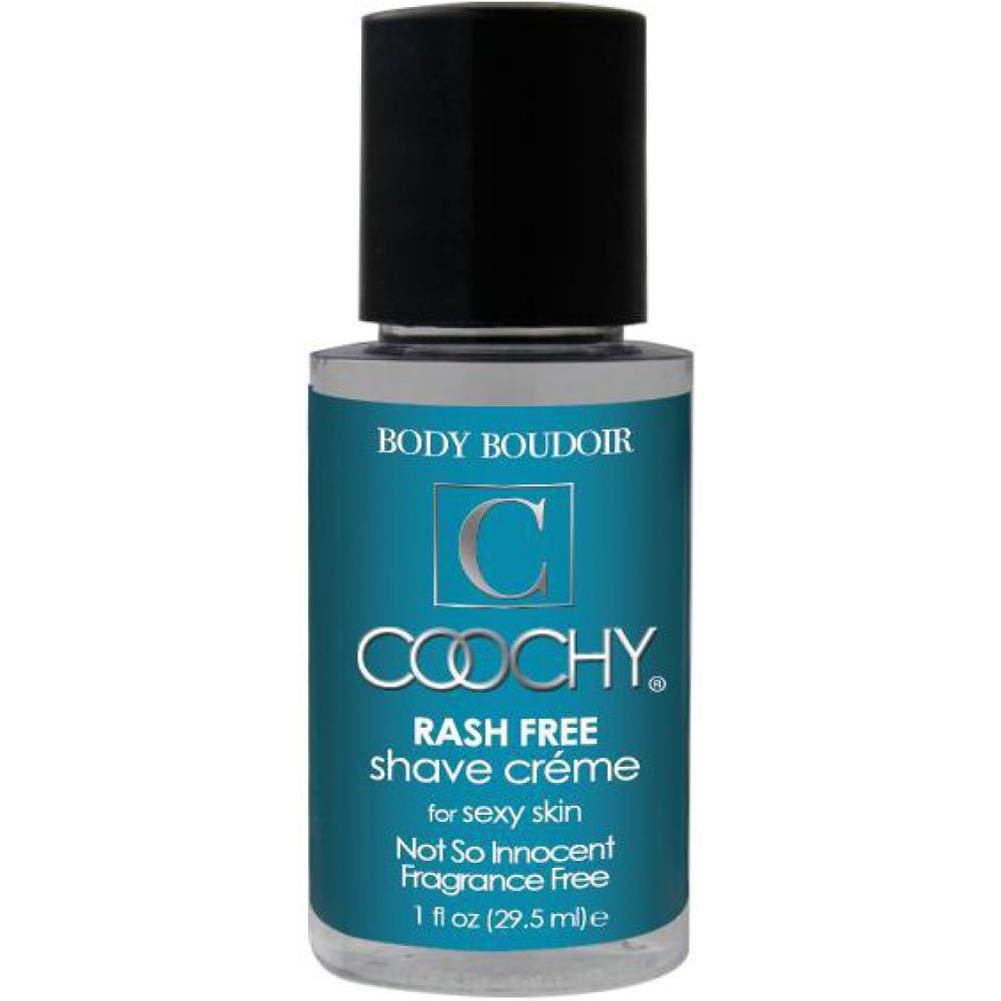 Coochy Rash Free Shave Creme 1 Fl.Oz Not So Innocent Fragrance Free - View #1