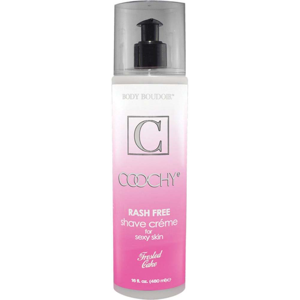 Coochy Rash Free Shave Creme 16 Fl.Oz Frosted Cake - View #1