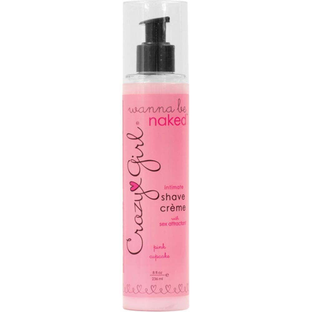 Crazy Girl Wanna Be Naked Intimate Shave Creme- Pink Cupcake - View #1