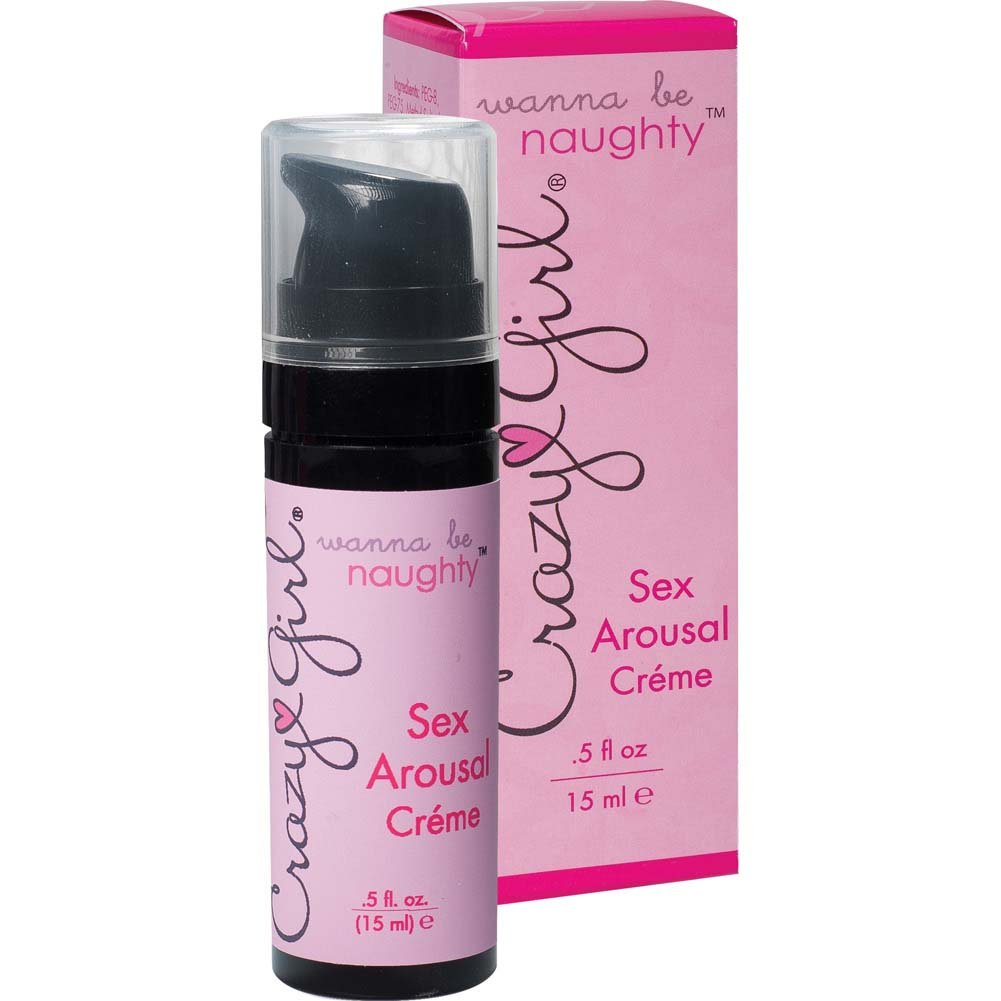 Crazy Girl Wanna Be Naughty Sex Arousal Creme .5 Oz. Boxed - View #2
