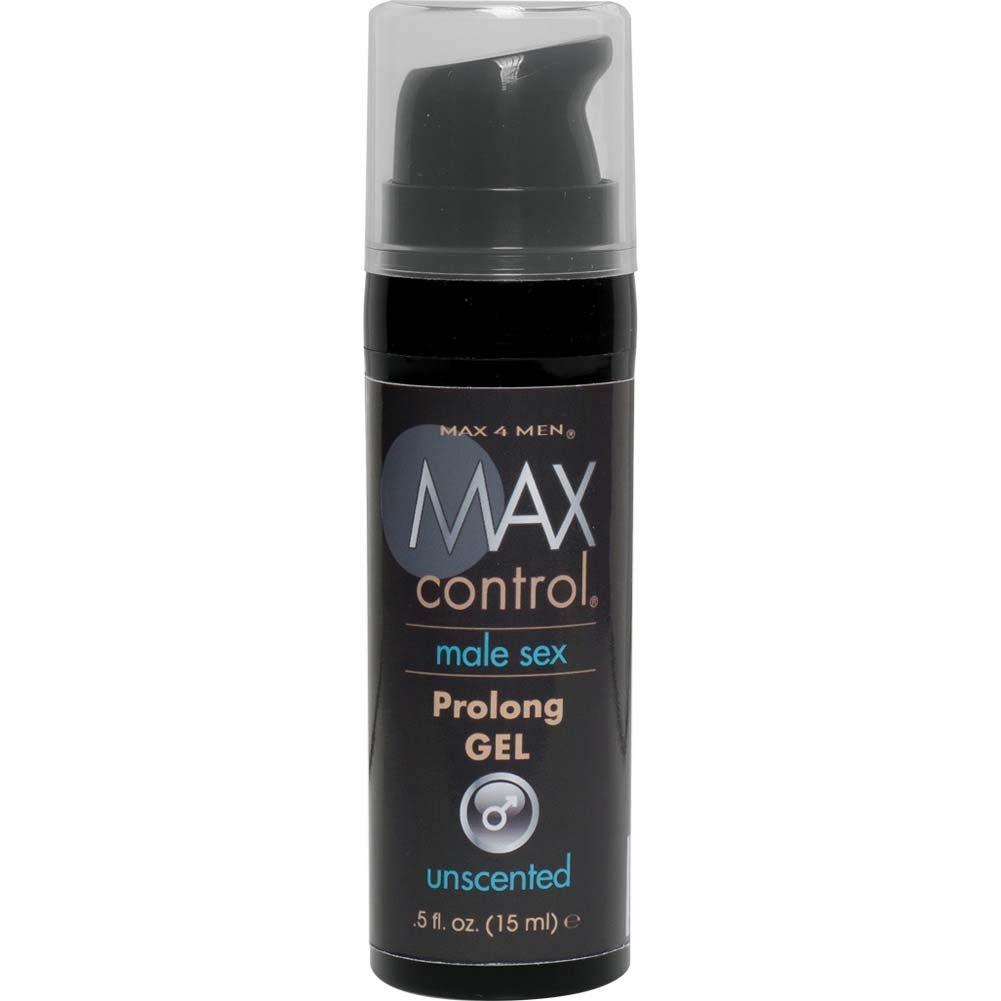 Max Control Prolong Gel for Men 0.5 Fl.Oz 15 mL Mini Bottle - View #2